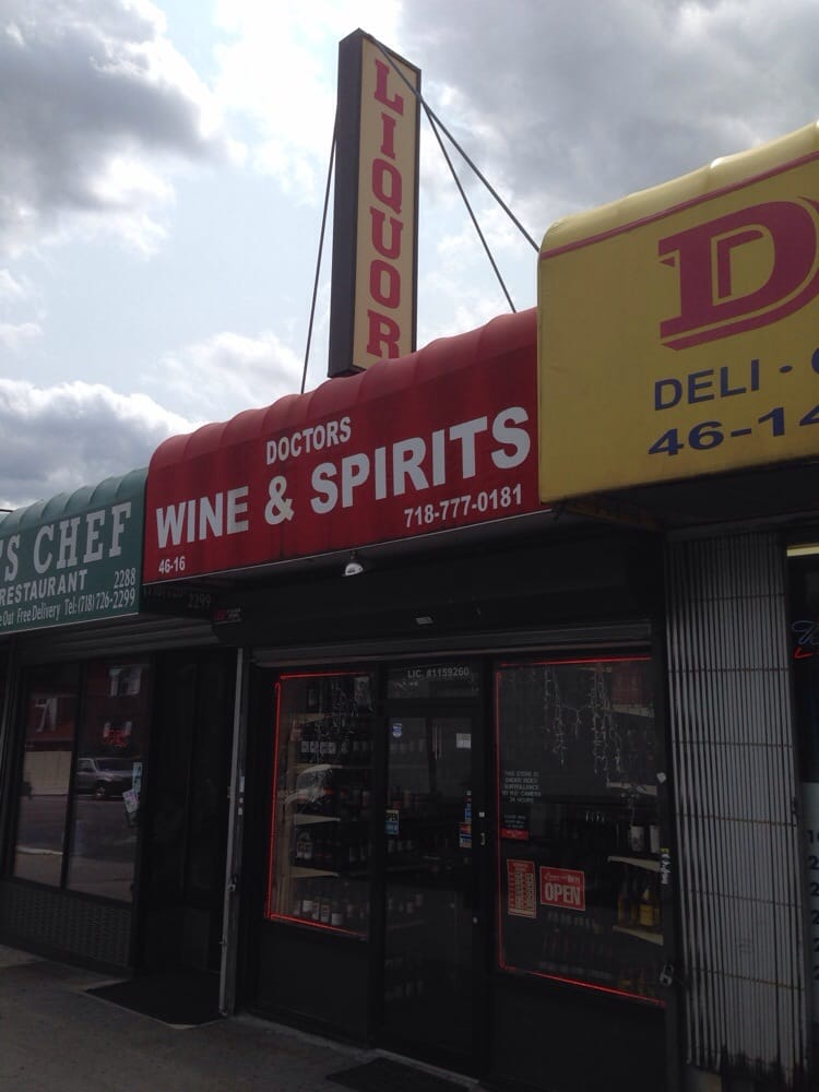 Doctors Wine and Spirits: 46-16 Ditmars Blvd, Queens, NY