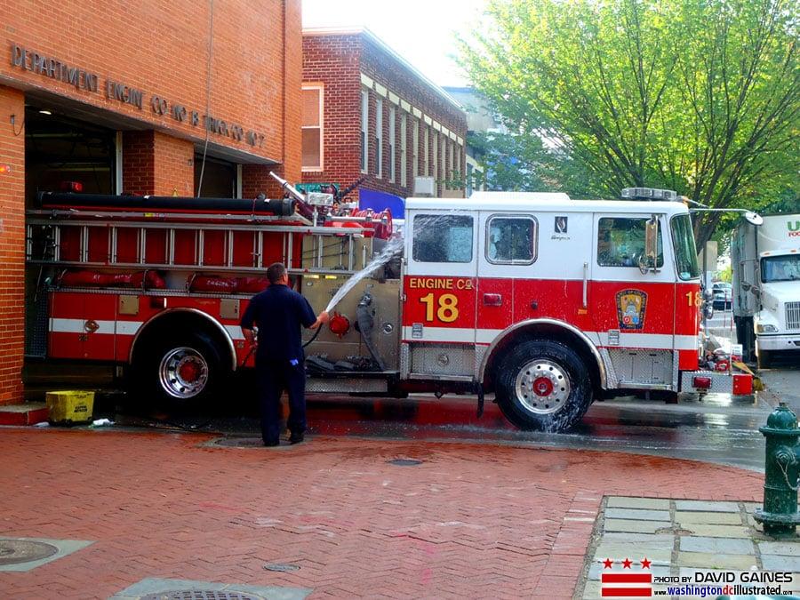 DCFD Fire House Engine 18: 414 8th St SE, Washington, DC, DC