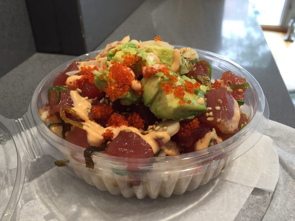 Poke bowl 104 photos 84 reviews seafood restaurants for Fish restaurant philadelphia