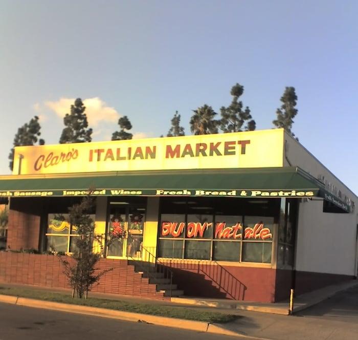 Claro's Italian Markets: 101 W Whittier Blvd, La Habra, CA