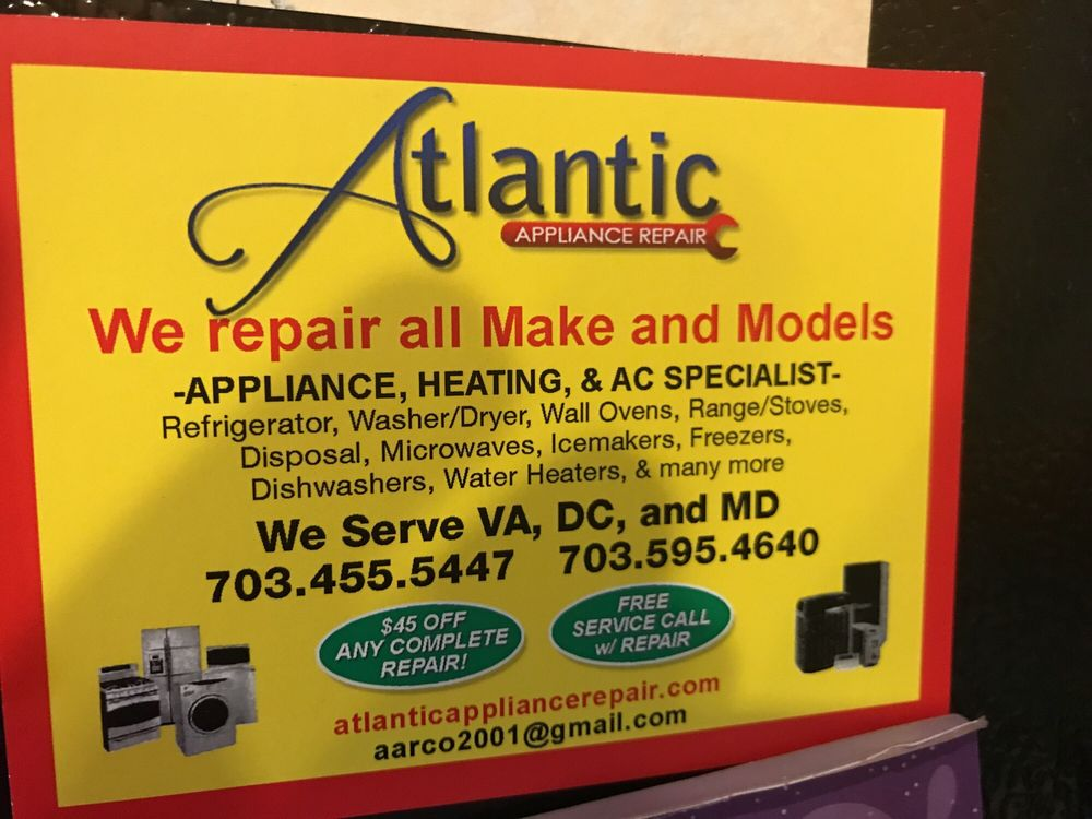 Atlantic Appliance Repair