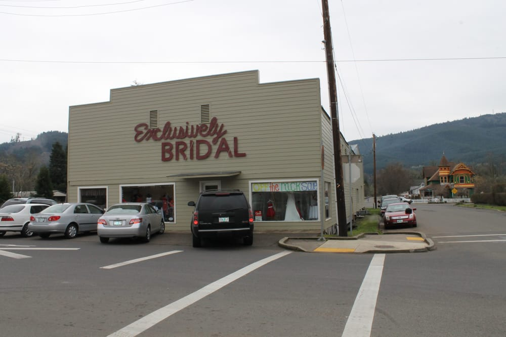 Exclusively Bridal: 101 E B Ave, Drain, OR