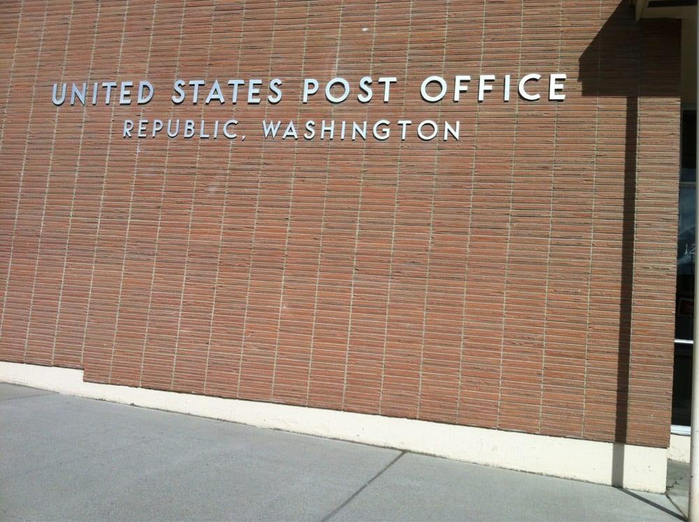 US Post Office: 128 N Clark St, Republic, WA
