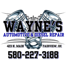 Wayne's Automotive & Diesel Repair: 423 N Main, Fairview, OK