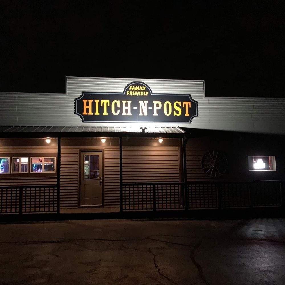 Hitch N Post Saloon: 120 N Browns Lake Dr, Burlington, WI
