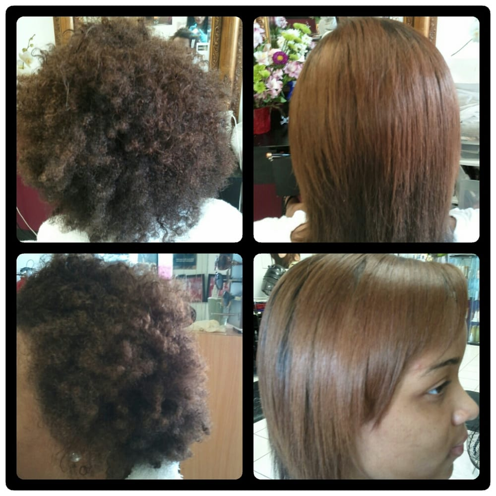 Keratin treatment on natural hair yelp for Salon kerat in