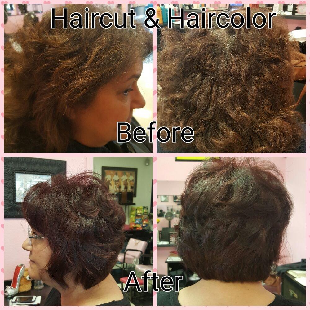 Hair Color Haircut Blow Dry Yelp