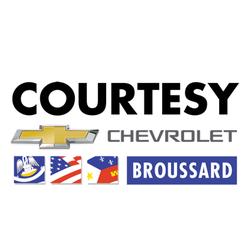 Courtesy Chevrolet Cadillac Car Dealers 1345 Evangeline Thruway