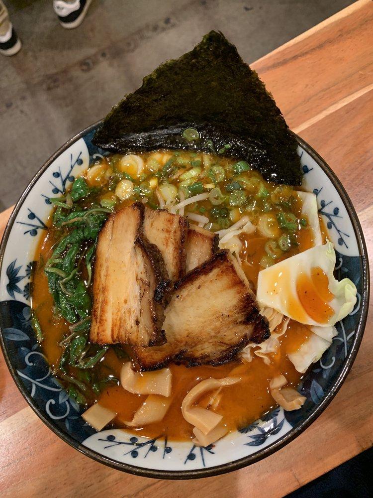 Food from Nishi Poke & Ramen Bar