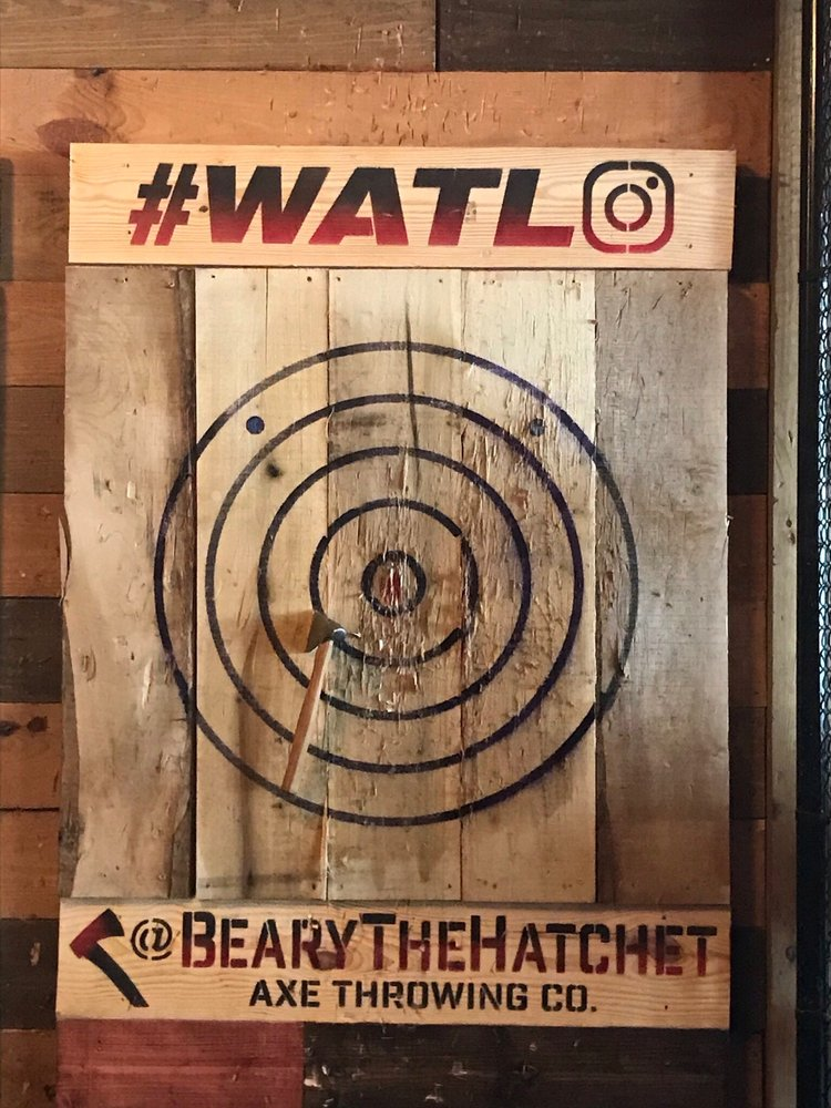 Beary The Hatchet Axe Throwing: 417-B S Front St, New Bern, NC