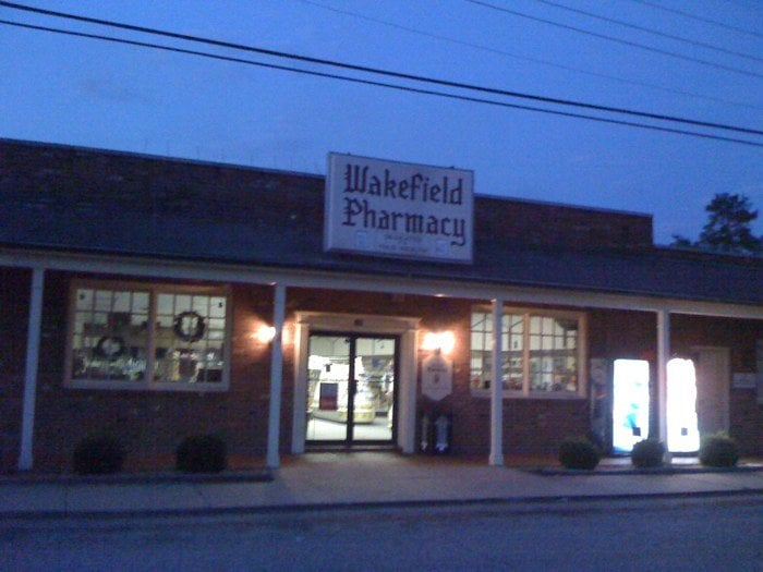 Wakefield Pharmacy: 105 Railroad Ave, Wakefield, VA