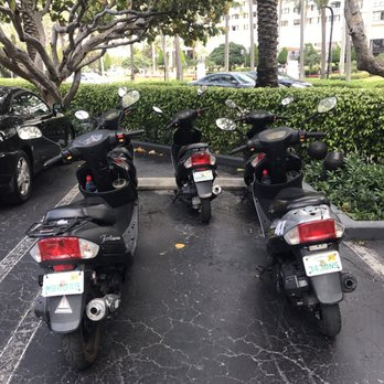 Photo Of Scooter Style Miami Beach Fl United States