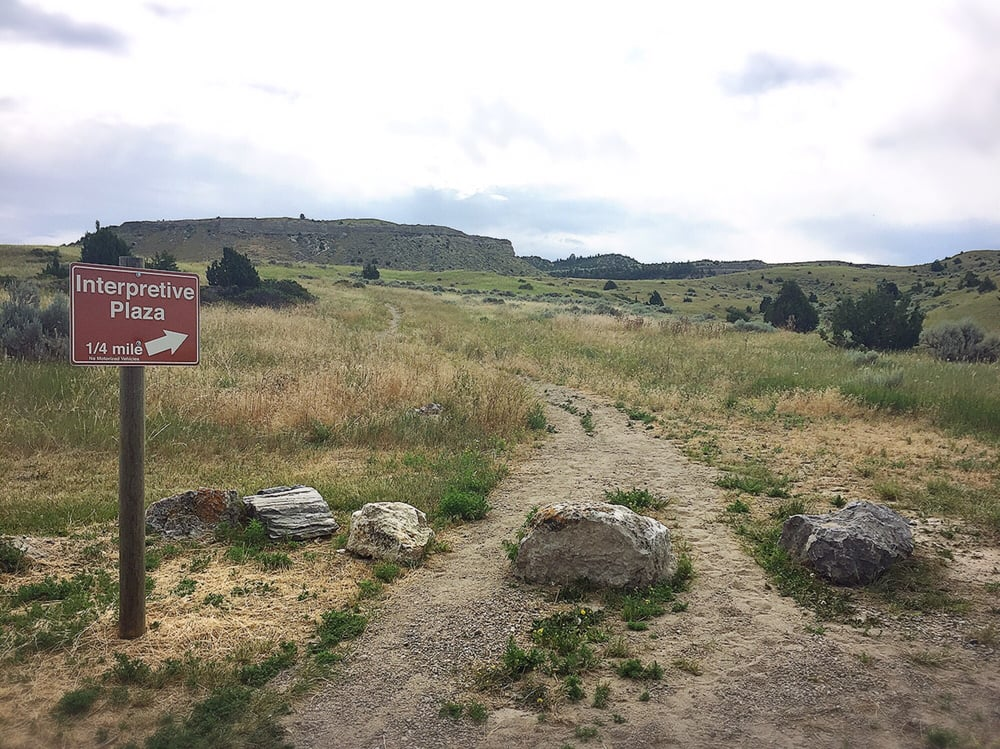 Madison Buffalo Jump State Park: 1585 Trident Rd, Three Forks, MT