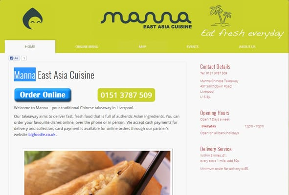 Manna east asia cuisine fast food 437 smithdown road for Aja east asia cuisine
