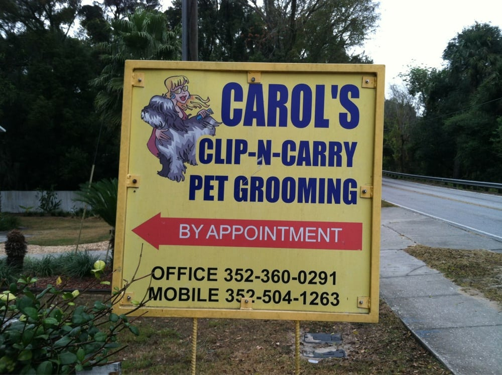 Carol's Clip-N-Carry: 504 S Dixie Ave, Fruitland Park, FL