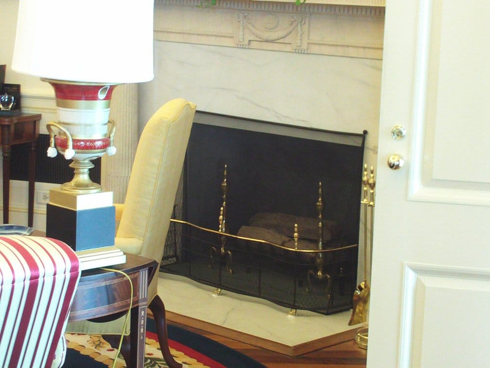 oval office fireplace. Photo Of William J Clinton Presidential Center - Little Rock, AR, United States. Oval Office Fireplace