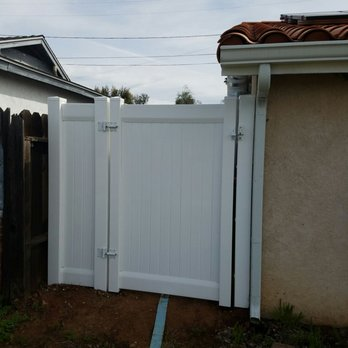 Photo Of Vinyl Pro Fence   San Diego, CA, United States. After: