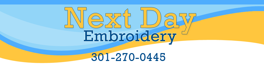 Next Day Embroidery: 6495 New Hampshire Ave, Hyattsville, MD