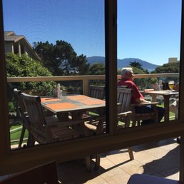 Photo Of Gallery Cafe Pebble Beach Ca United States Beautiful Day At
