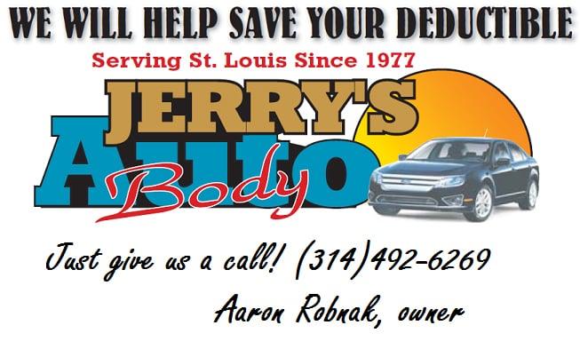 Jerry's Auto Body: 7923 Saint Charles Rock Rd, Saint Louis, MO