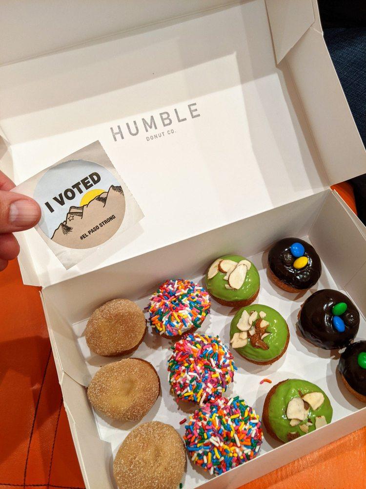 Humble Donut: 12371 Edgemere Blvd, El Paso, TX