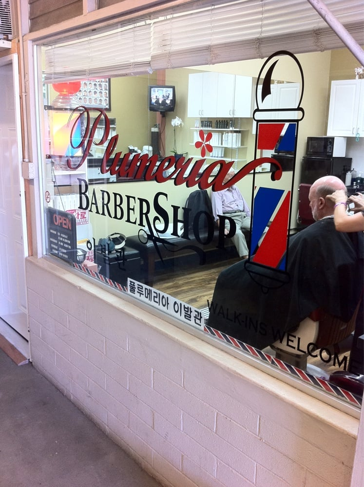 Plumeria Barber Shop - Barbers - 1495 S King St, Honolulu, HI, United ...