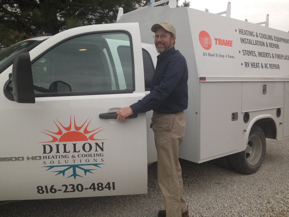 Dillon Heating & Cooling Solutions: 7089 Outer Rd, Odessa, MO