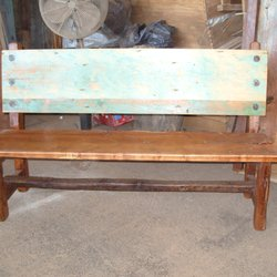 Etonnant Photo Of Mexico Lindo Furniture   Santa Fe, NM, United States. Rustic Bench