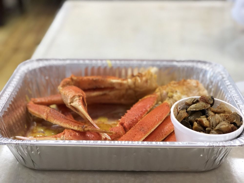Food from Mr. Shuck's Seafood