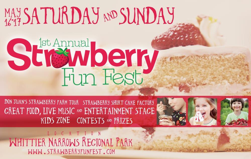 Strawberry Fun Festival 2015: 555 N Durfee Ave, South El Monte, CA