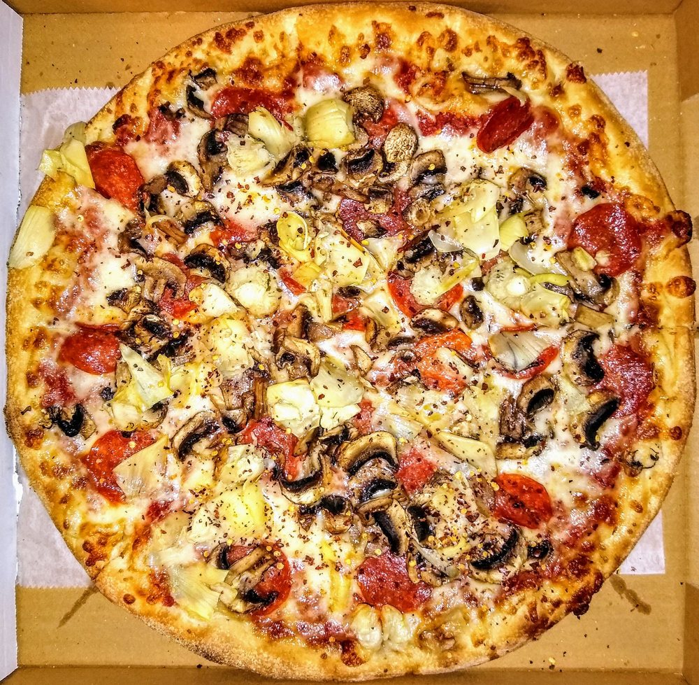 Food from Sun Valley Pizza