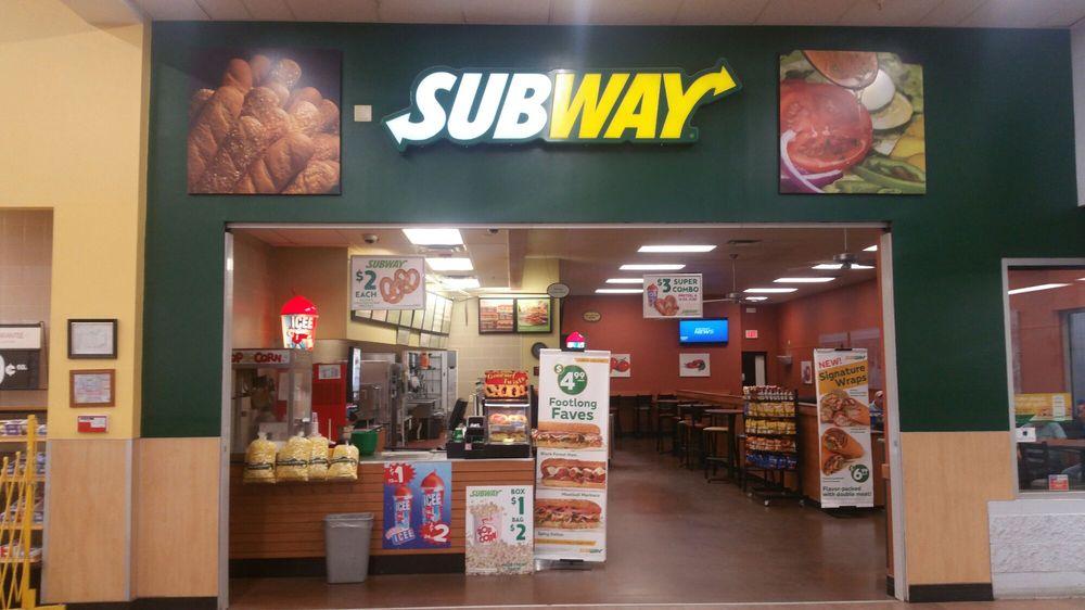 Subway: 1869 Plaza Dr, Allegany, NY