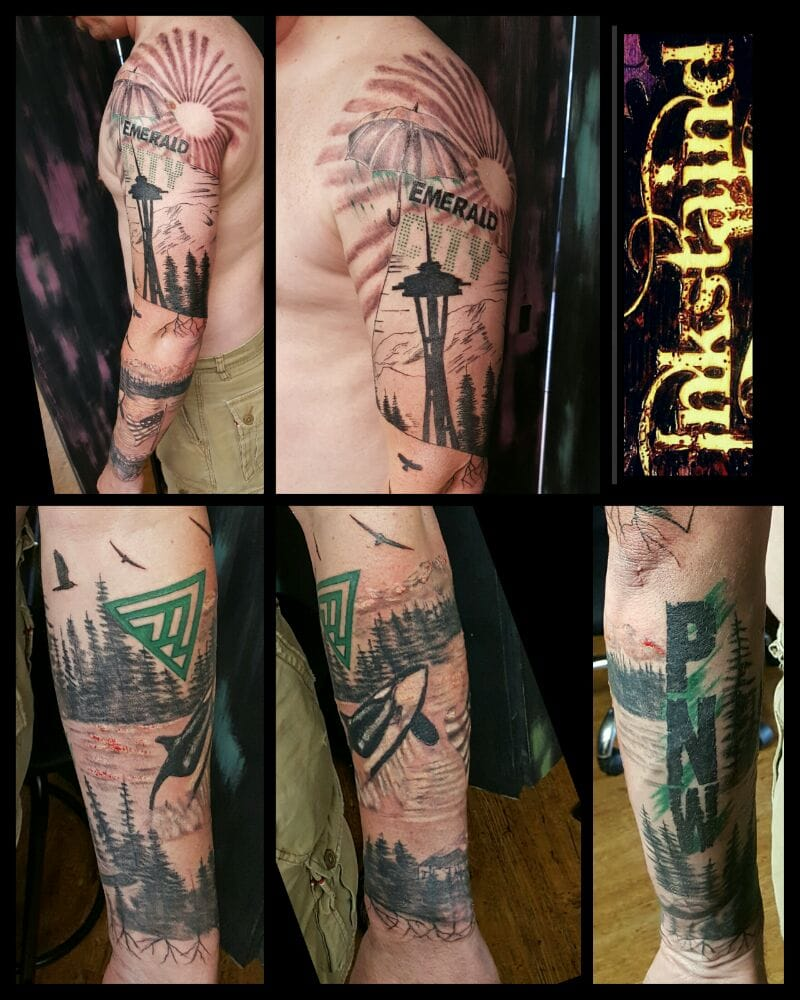 Inkstaind Tattoo Studio: 1210 E Main St, Puyallup, WA