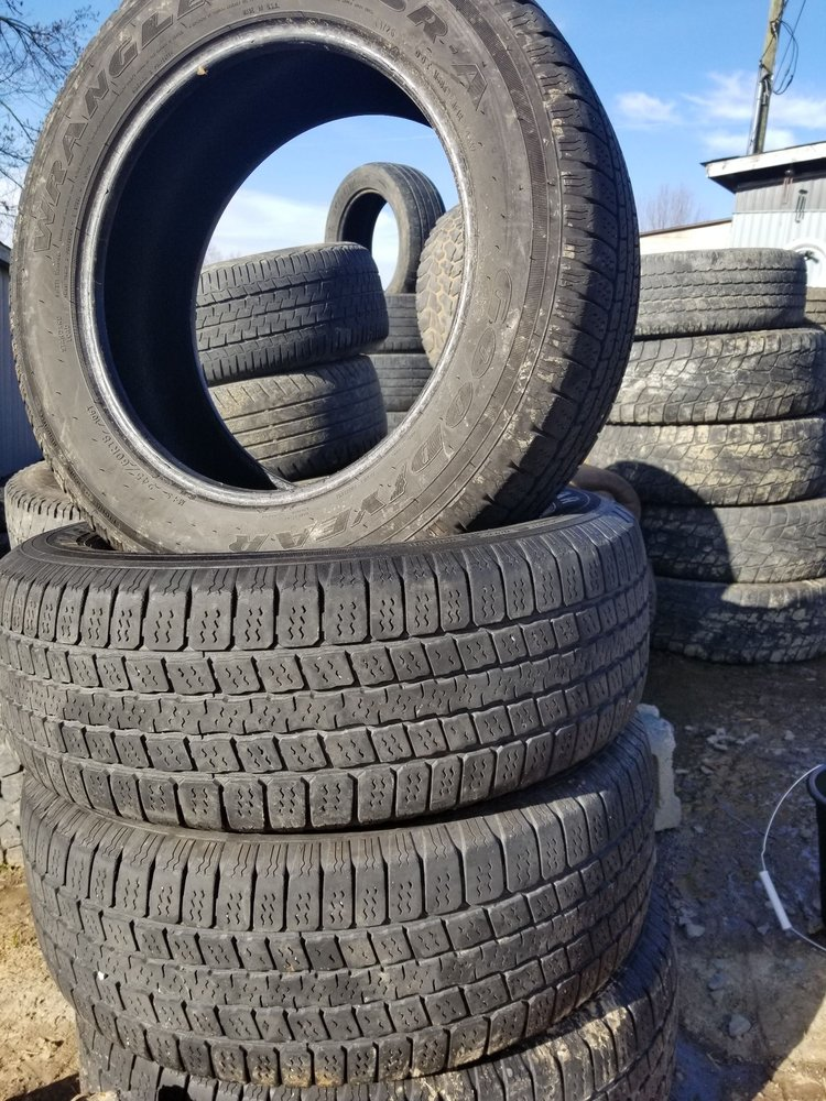 Tire City Upcycle: 307 Mountain Top Dr, Princeton, WV