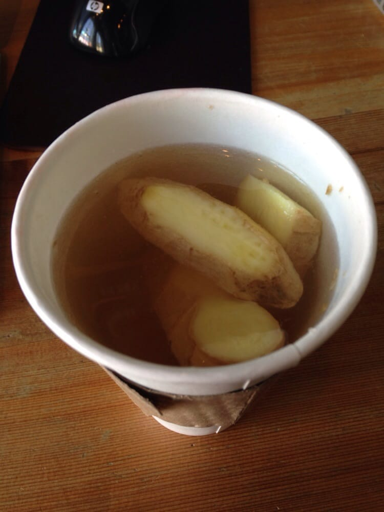 how to make ginger tea with real ginger