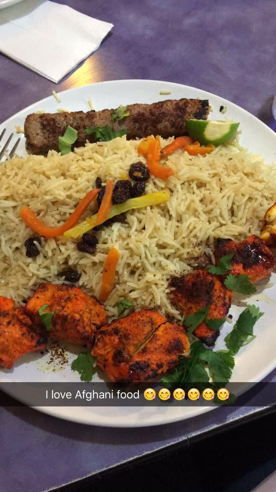 Chicken kabab with beef kebab yelp for Afghan cuisine houston tx