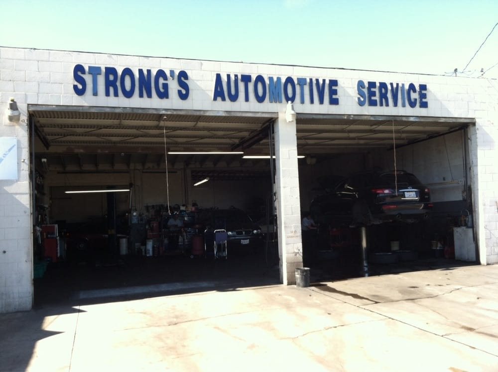 Strong's Automotive Service: 1625 W El Segundo Blvd, Gardena, CA