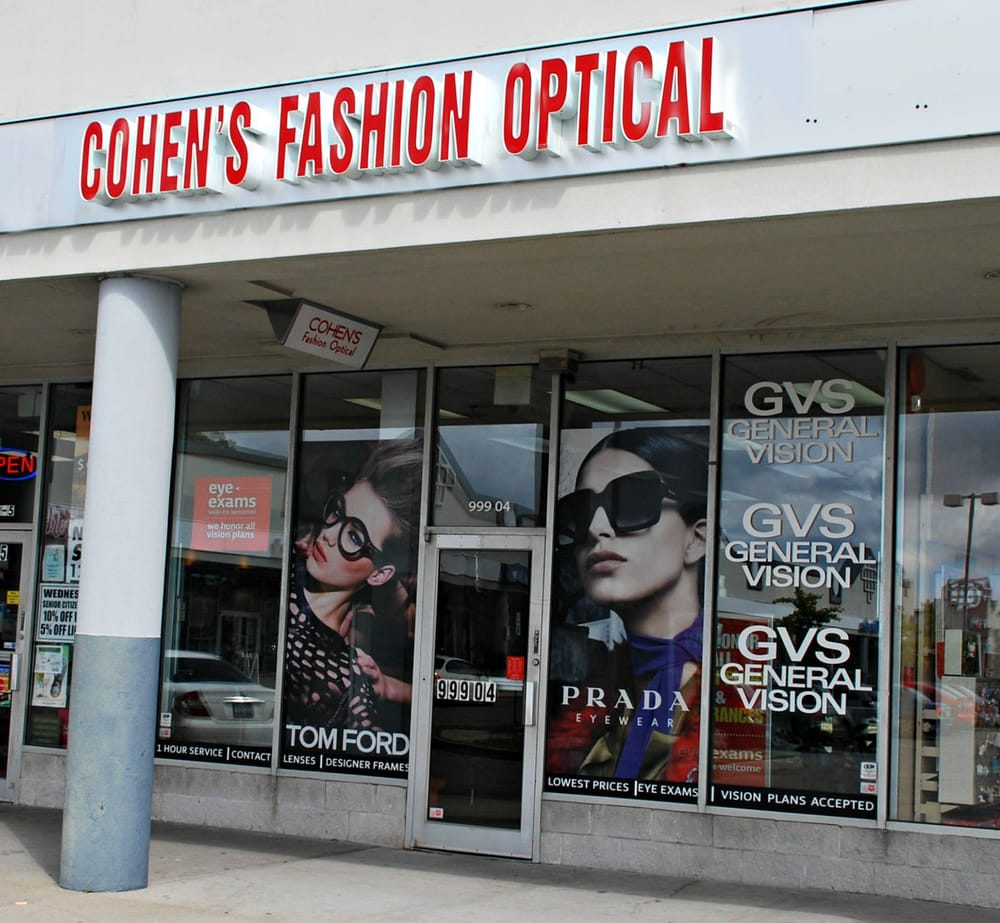 cohen fashion optical refund policy