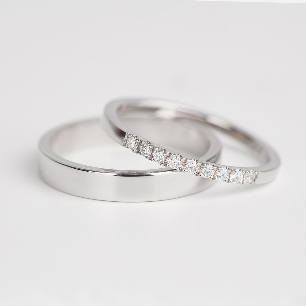 Snubni Prsteny Z Bileho Zlata Damsky Prsten Osazeny Diamanty Yelp