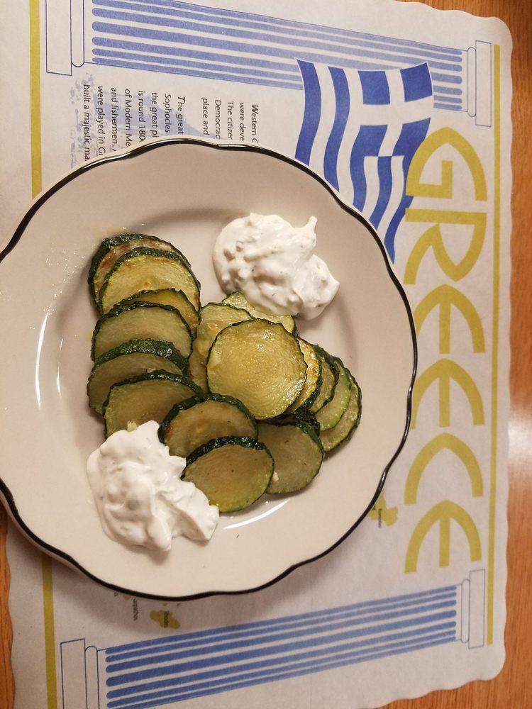 Peters Greek Kitchen Menu