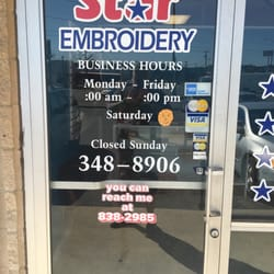 a9315096e2147 Star Embroidery - Printing Services - 6325 San Pedro Ave