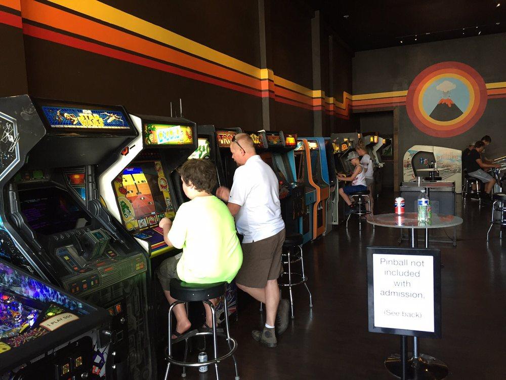 Vector Volcano Arcade: 111 NW Oregon Ave, Bend, OR