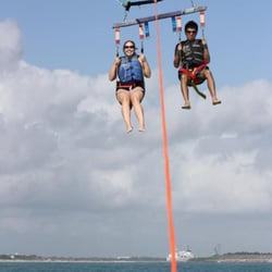 Photo Of Cocoa Beach Parasail Port Canaveral Fl United States On Our