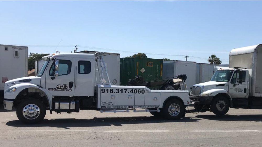 AJ's Towing: 8450 Laguna Grove Dr, Elk Grove, CA
