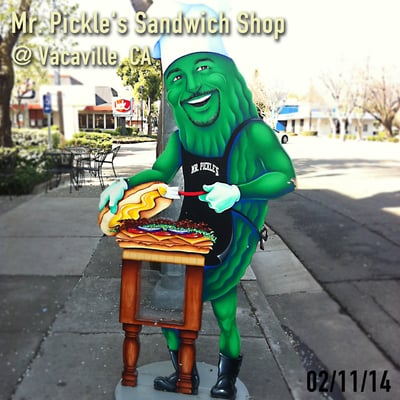 Mr. Pickle's Sandwich Shop - Delis - Vacaville, CA - Yelp