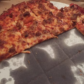 how to cut a square pizza