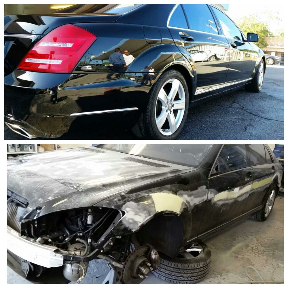 2011 Mercedes Benz S550 Yelp Paint Photo Of One Stop Auto Body Los Angeles Ca United States