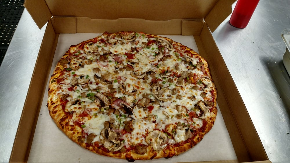 Pizza Place: 6103 Joe Frank Harris Pkwy NW, Adairsville, GA