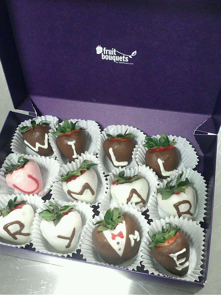 Strawberries Fruit Bouquets (Message: Will U MARRY ME) - Yelp