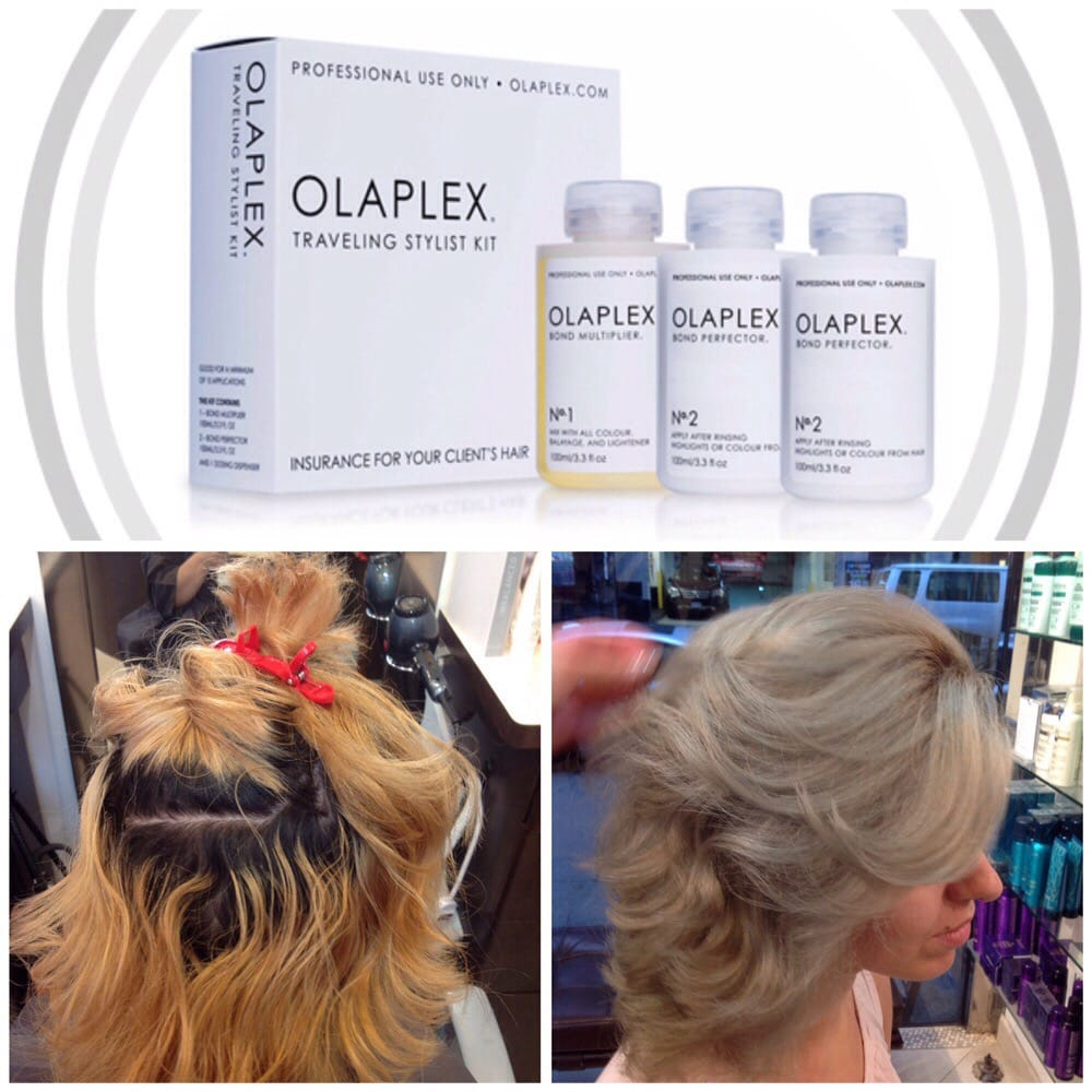 Thank you olaplex yelp for Aaron emanuel salon nyc